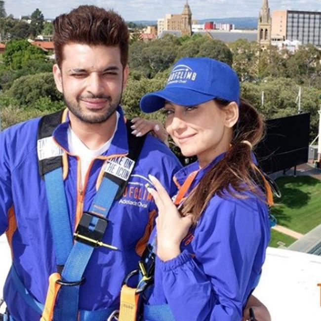Anusha Dandekar with boyfriend Karan Kundra in Australia