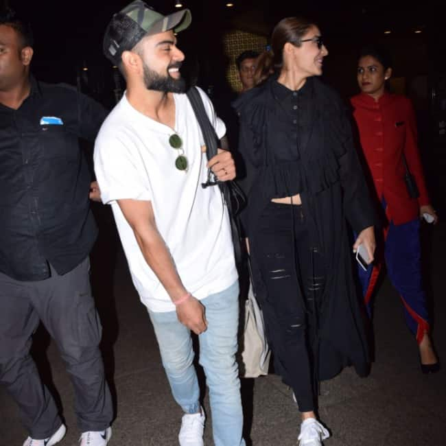 Anushka and Virat are head over heels in love