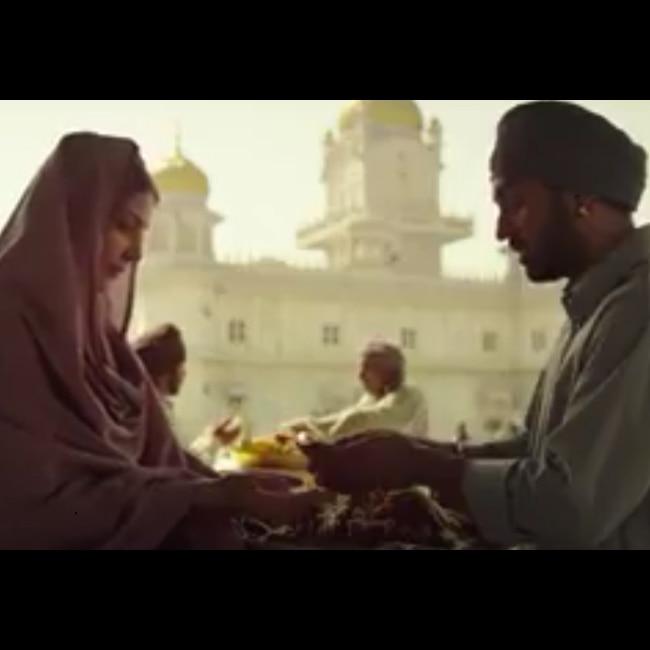 Anushka Sharma and Diljit Dosanjh from Dum Dum song of Phillauri