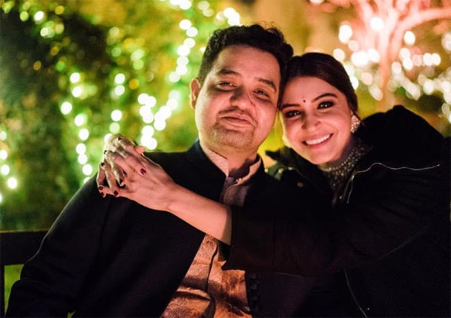 Anushka Sharma and her brother Karnesh Sharma