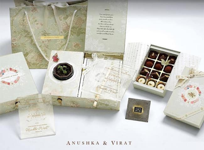 Anushka Sharma and Virat Kohli   s reception invitation