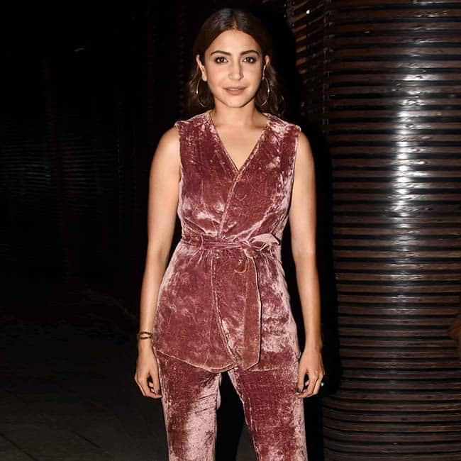 Anushka Sharma flaunts her pink pantsuit at Aanand L Rai   s Birthday
