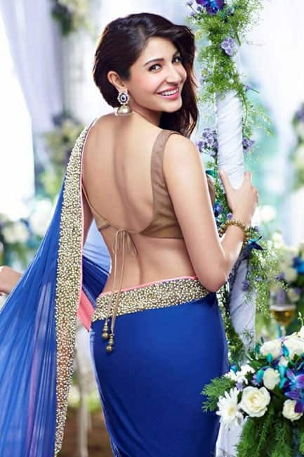 Anushka Sharma flaunts her sexy back in this picture
