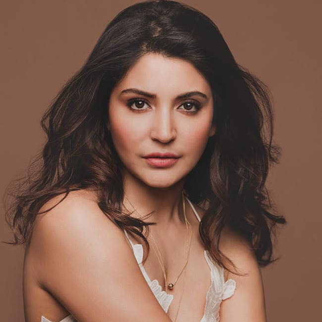 Anushka Sharma showing off her skin during a bold photo shoot