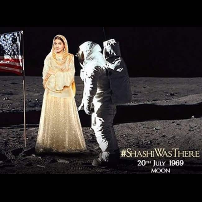 Anushka Sharma stepped moon with Neil Armstrong in 1969