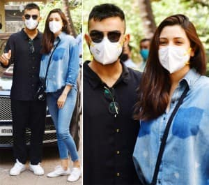 Anushka Sharma-Virat Kohli Radiate Happiness, Get Clicked For The First Time After Having a Baby - See Photos