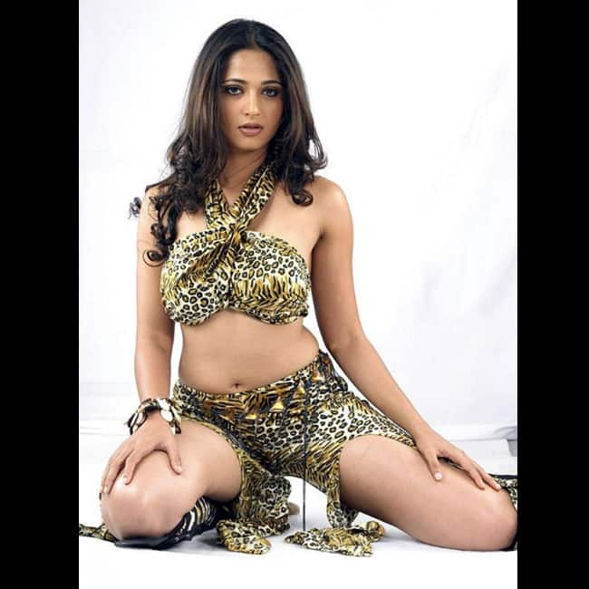 Anushka Shetty posing for super hot shoot