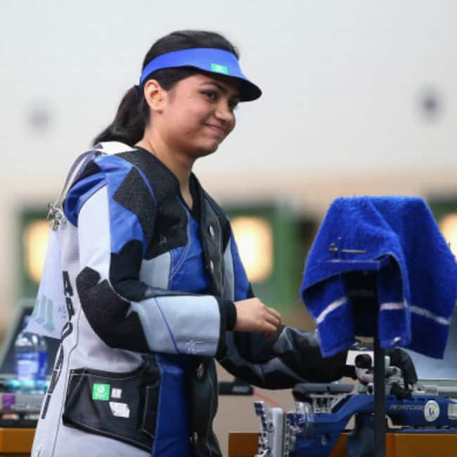 Apurvi Chandela won bronze medal in shooting category