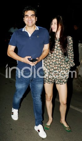 Arbaaz Khan Takes Rumoured Girlfriend Georgia Andriani Out on a Dinner Date