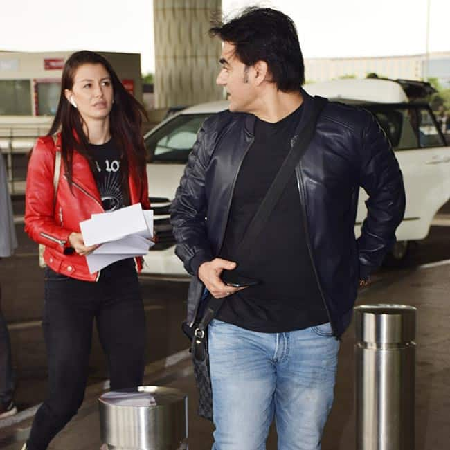 Arbaaz Khan keeps it casual as he is spotted at the airport