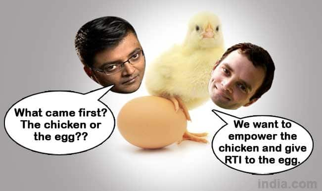 Arban Goswami and Rahul Gandhi meme after the interview