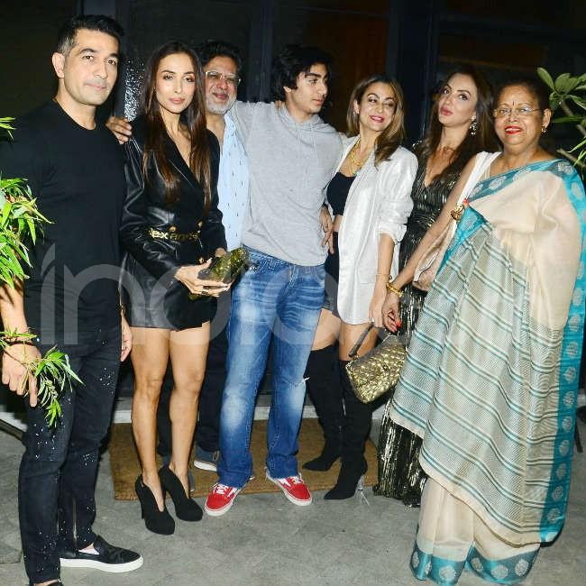Arhaan Khan s birthday dinner