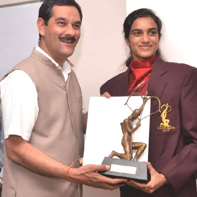 Arjun award for Badminton 2013