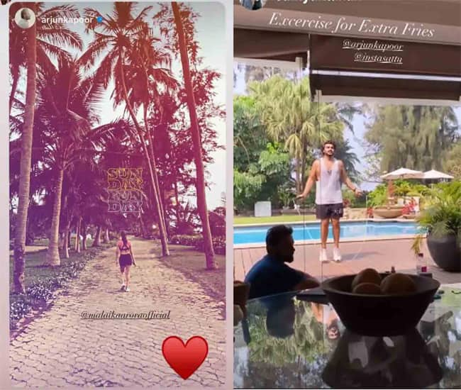 Arjun Kapoor and Malaika Arora spend the Holi in Alibaug