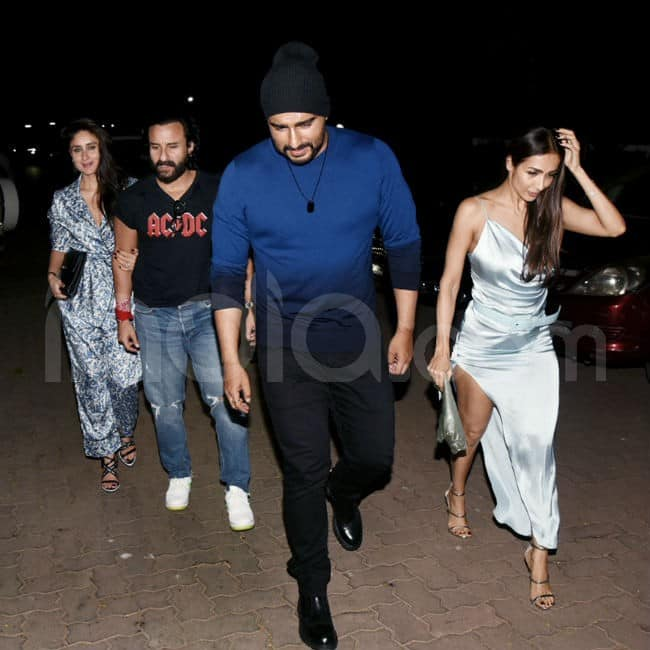 Arjun Kapoor Malaika Arora go out