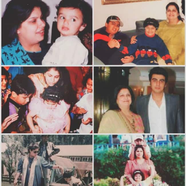 Arjun Kapoor Mother   s Day wish