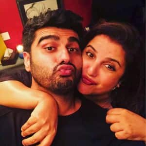 PICS: Rumored couple Malaika Arora and Arjun Kapoor attend Farah Khan's birthday party