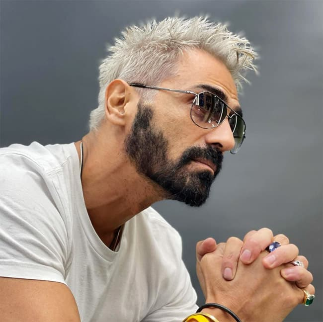 Arjun Rampal Gets A New Look For Dhaadak  Changes Hair Colour To Platinum Blonde