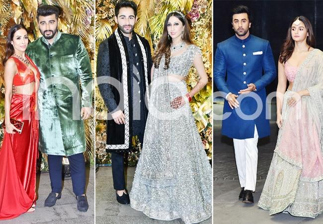 Armaan Jain   Anissa Malhotra s wedding reception