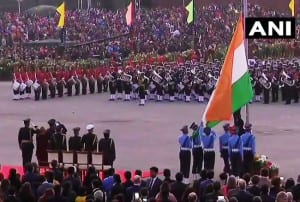 Beating Retreat Ceremony 2020: Patritoc Fervour Sweeps Vijay Chowk as Republic Day Celebrations Come to End
