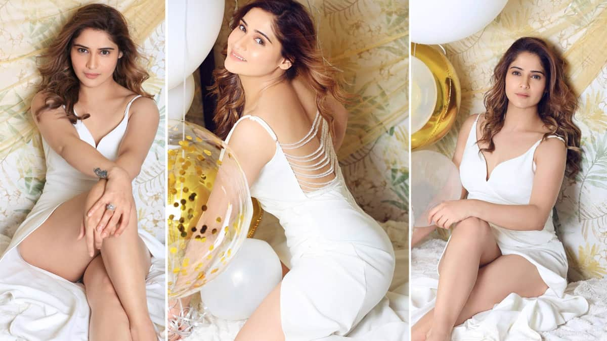 Arti Singh Oozes Oomph in Sultry White Backless Dress