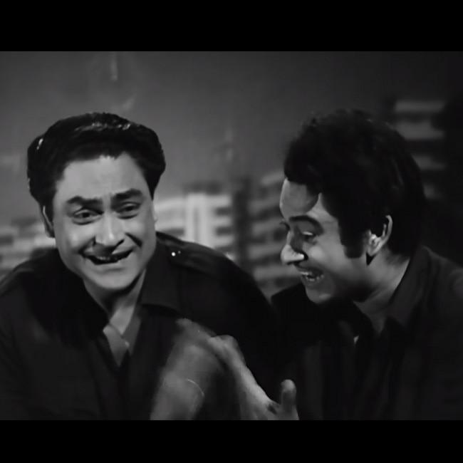 Ashok Kumar in Chalti Ka Naam Gaadi