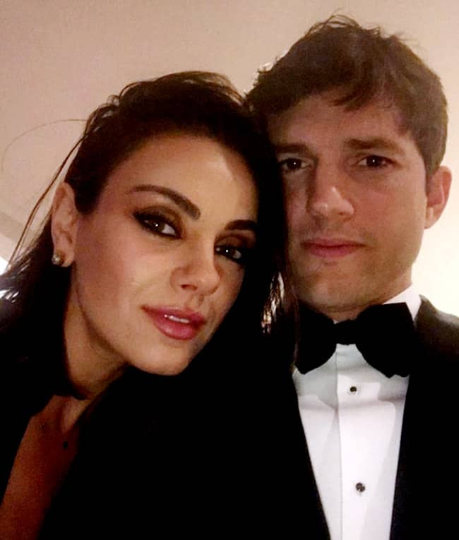 Ashton Kutcher  Mila Kunis Troll Tabloid For Reporting Their Split