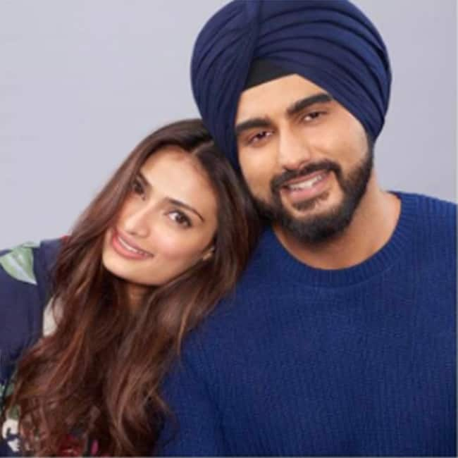 Athiya  Shetty and Arjun Kapoor   s photoshoot for Mubarakan