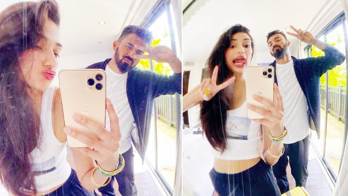 Athiya Shetty Wishes Boyfriend KL Rahul With a Goofy Post