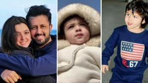 Atif Aslam's Little Munchkin Asad is a Bundle of Cuteness, Taimur Ali Khan Are You Listening?