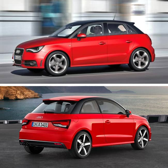 Audi A1 is expected to be priced between Rs 19.00 - 25.95 ...