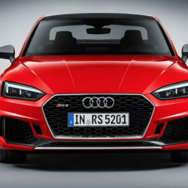 Audi RS5 Coupe 2018 safety features