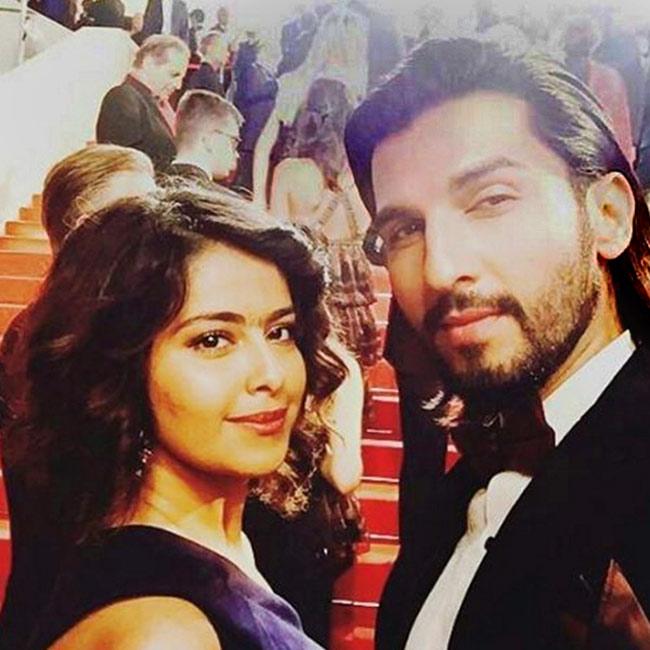 Avika Gor snapped with boyfriend  Manish Raisinghan during 69th Cannes Film Festival