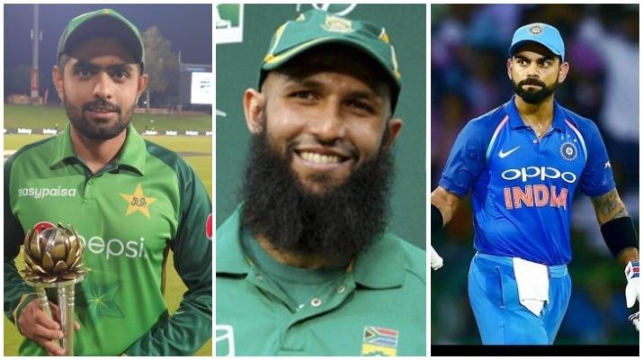 Babar Azam overtakes Hashim Amla and Virat Kohli to become fastest men   s cricketer to get to 13 ODI centuries