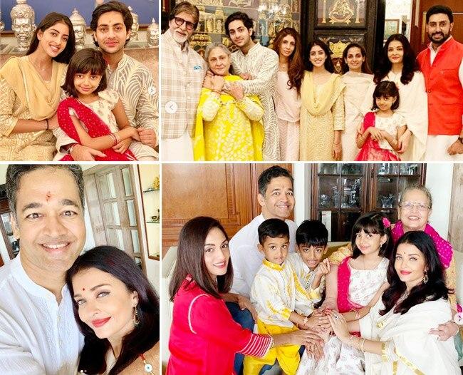 Bachchans Celebrate Rakhi