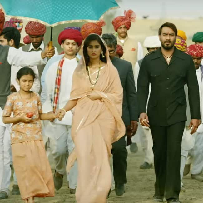 Background score of Baadshaho teaser
