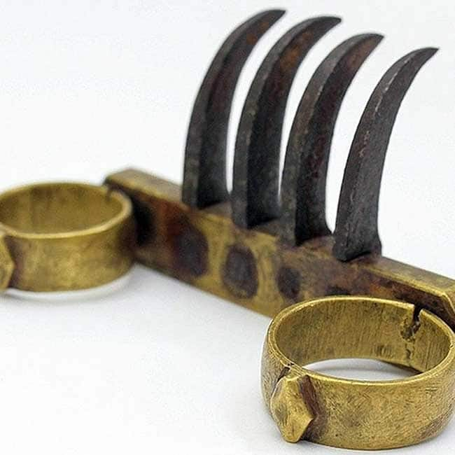 Bagh Nakha is an Indian weapon that looked a claw