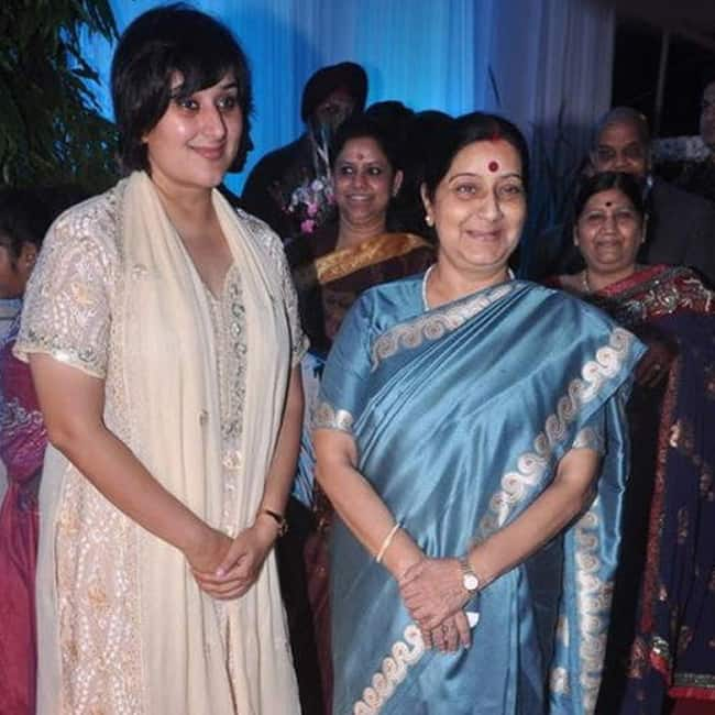 Bansuri Swaraj  daughter of External Affairs minister Sushma Swaraj