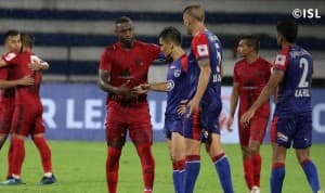 ISL 2019-20 Match 2: Sunil Chhetri-Led Bengaluru FC Play Goalless Draw With NorthEast United FC