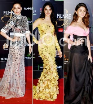 Best And Worst Dressed From Filmfare Glamour And Style Awards Red Carpet 2019