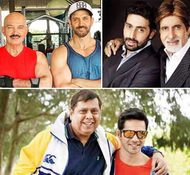 Best father son duos of Bollywood