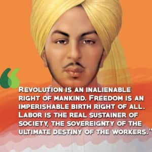 Shaheedi Divas: 9 inspirational quotes by Bhagat Singh which continue propagating his ideology!