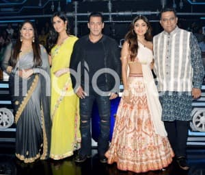 Salman Khan, Katrina Kaif Join Shilpa Shetty And Others on Super Dancer 3 For Bharat