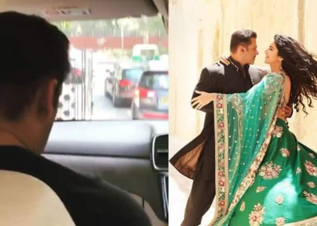 Bharat  Salman Khan And Katrina Kaif Head to The Capital