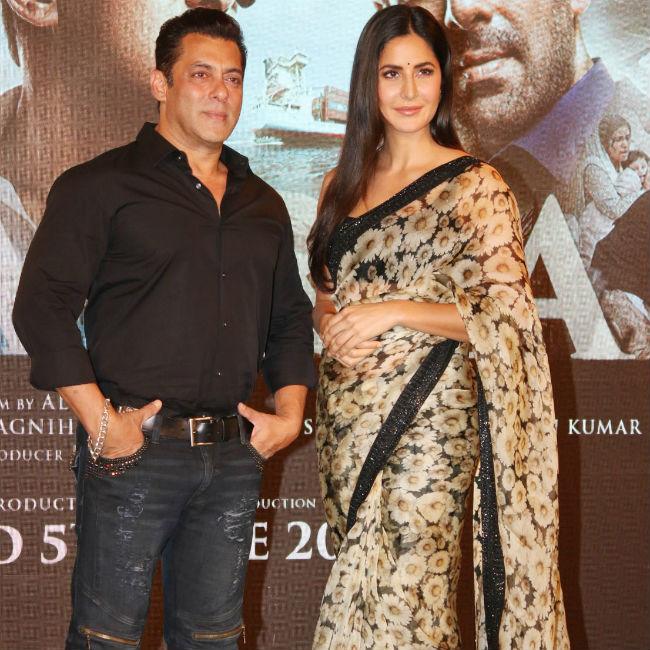 Bharat Song Zinda Launch  Katrina Kaif And Salman Khan Dazzle during the Launch