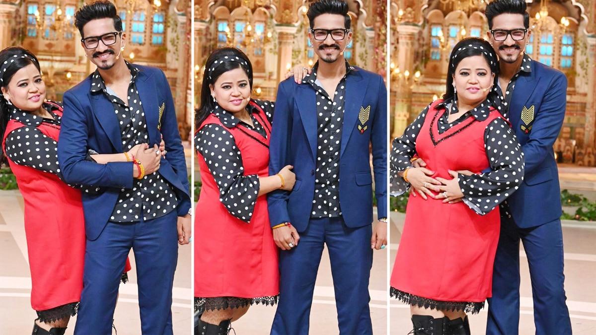 Bharti Singh and Haarsh Limbachiyaa   s retro look for Dance Deewane 3