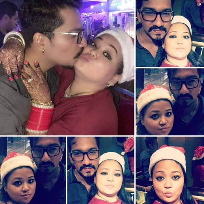 Bharti Singh celebrating Christmas with husband Harsh in Europe