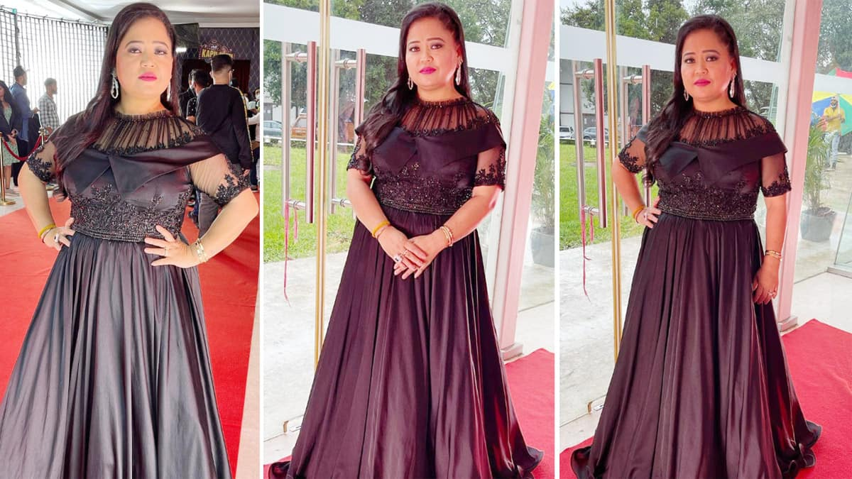 Bharti Singh has a thing for black outfits     See photos of her transformation