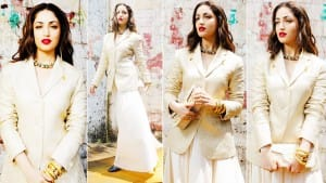 Bhoot Police Star Yami Gautam Is a Perfect Example Of Elegance In Her Off-White Blazer | See Pics