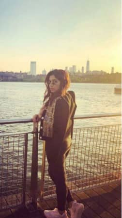 Bhumi Pednekar Enjoys Her Vacay in NYC With Her Girl Gang
